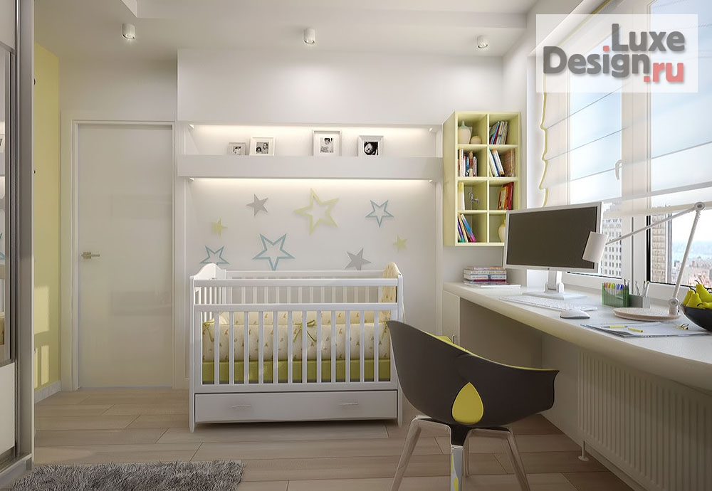 """Дизайн интерьера двухкомнатной квартиры """"Дизайн 2х к кв в ЖК Эгоист"""" (фото 7)"""