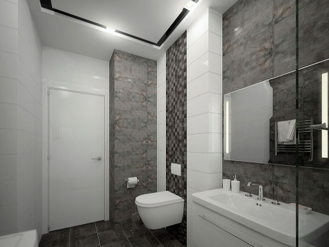 """Дизайн интерьера двухкомнатной квартиры в Саратове """"Дизайн 2х к кв в ЖК Эгоист"""""""